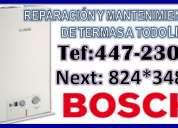 Bosch - lima (447-2306) servicio tecnico de termas