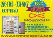 Chorrillos !!7378107!!daewoo servicio tecnico lavadoras y secadoras