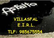 Venta de asfalto liquidos en frio y caliente...en villasfal