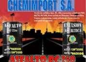 Venta de asfalto rc-250, mc-30, alquitrán, numero 1 en calidad y garantia!