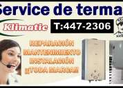 ¡¡klimatic servi¡¡ 447-2306/ servicio tecnico de termas klimatic¡¡