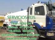 Limpieza fosas septicas telf.: 5755186 / 412*6148