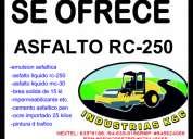 Lleve asfaltos optimos rc-250 al x mayor facturado puesto en obra celular:945624066
