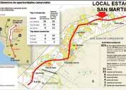 Alquiler de local en estratÉgica zona comercial de sjl
