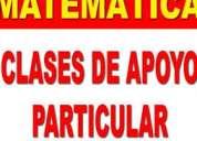 Clases particulares de matemÁtica -primaria -secundaria- superior