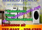 Reparacion de electrolux ¡  a domicilio !