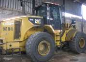 Vendo cargador frontal caterpillar 966h 2008.