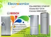 bosch/*servicio tecnico[{6687691}] -reparación refrigeradoras lavadoras, secadoras