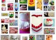 Cup-cakes, tortas y galletas temáticas