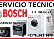 Servicio tecnico bosch refrigeradoras cocinas