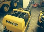Ocasion venta y alquiler de rodillos compactadores lisos 1 toneladas marca wacker  4252269/415*0807