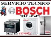 Servicio tecnico 447 6173 bosch refrigeradoras