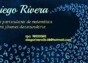 Clases particulares matematica secundaria