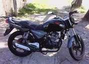 Keeway moto negra usado pero funciona muy bien en oferta
