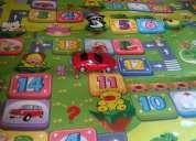 Vendo alfombra didactica con juegos para niños 2 metros
