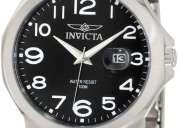 Vendo reloj invicta original, acero inoxidable.. envío gratis