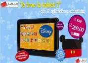 Oferta especial tablet disney nuevo