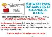 Software para sms masivos cobranza, venta teleprom sms