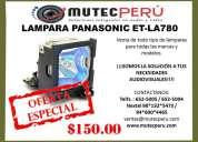 Lampara para para proyector panasonic etla780
