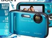 Sony waterproof camera dsctf1,16.1mp , nueva remato s/. 780