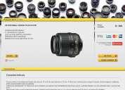 Oferta lente 1855mm para camara nikon nuevo