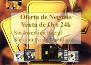 Peru - oferta de negocio: venta de oro de 24k