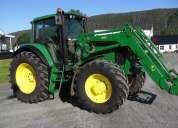 Tractor john deere 6820,año: 2003,135hp