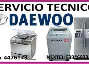Servicio tecnico reparacion de lavadora daewoo