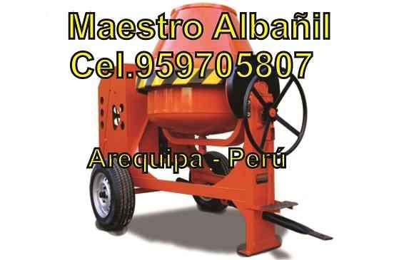 Maestro Albañil arequipa