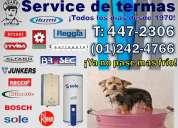 """Mantenimiento de Termas - AUTENTIC SERVICE """"4455168"""""""