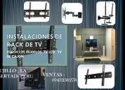 instalacion y ventas de racks de tv