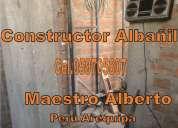 Maestro albañil constructor