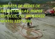 Limpieza fosas septicas telf.: 7259443 / 125*4786