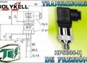 Transmisores y transductores de presiÓn