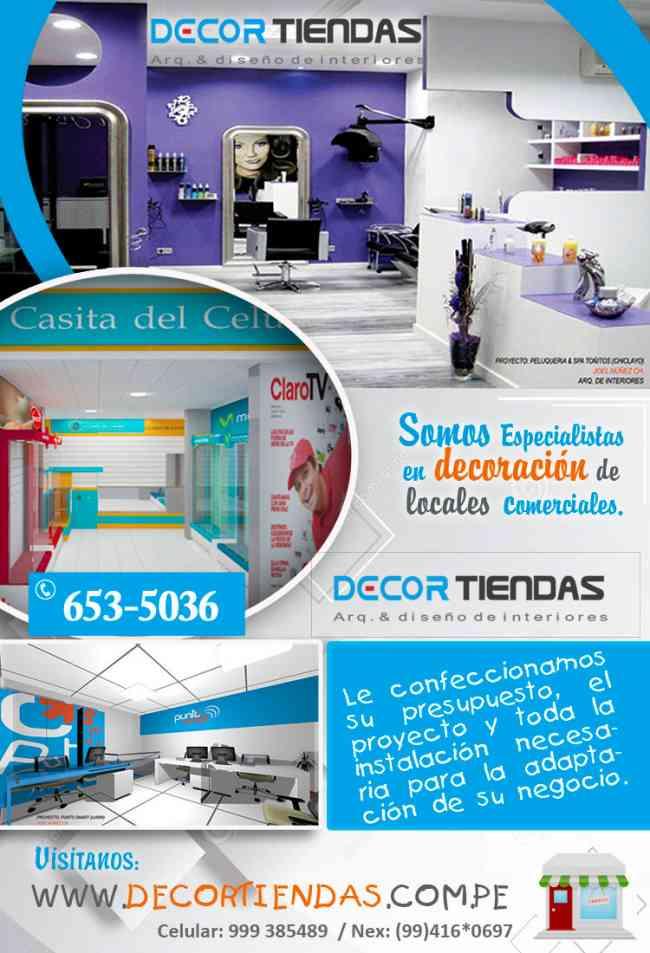 Dise o decoracion interiores negocios decor for Diseno de interiores lima