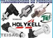Transductores de nivel de presiÓn con diafragma rasante y transmisores
