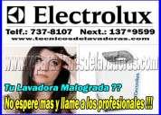 Expertos tecnicos de lavadoras y secadoras electrolux 7378107