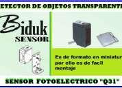 Sensores fotoelectricos (fotoceldas y laser)