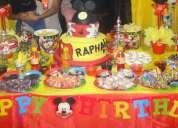 Fiestas infantiles personalizada raphita