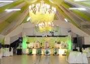 Eventos – decoraciones – salon de recepciones - buffets cinco estrellas