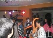 Alquiler de servicios y equipos para fiestas y eventos sociales