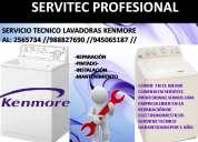 Servicio tÉcnico lavadoras kenmore (661078-2565734)lima