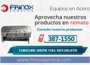 Venta de caja china - frinox service