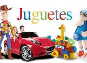 Recibo juguetes a consignacion para importante feria navideÑa 2014