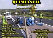 Fabricamos asfaltos y derivados telf:6740755