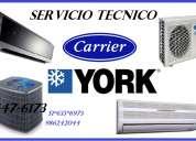 Servicio tecnico de aire acondicionados en lima carrier york