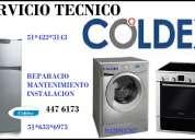 Servicio tecnico coldex lavadora cocinas