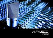 Publicidad radial peru spots radiales spots publicitarios spots -avmusic