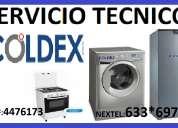 Servicio tecnico coldex 4476173 refrigeradoras