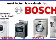 Servicio tecnico bosch refrigeradora